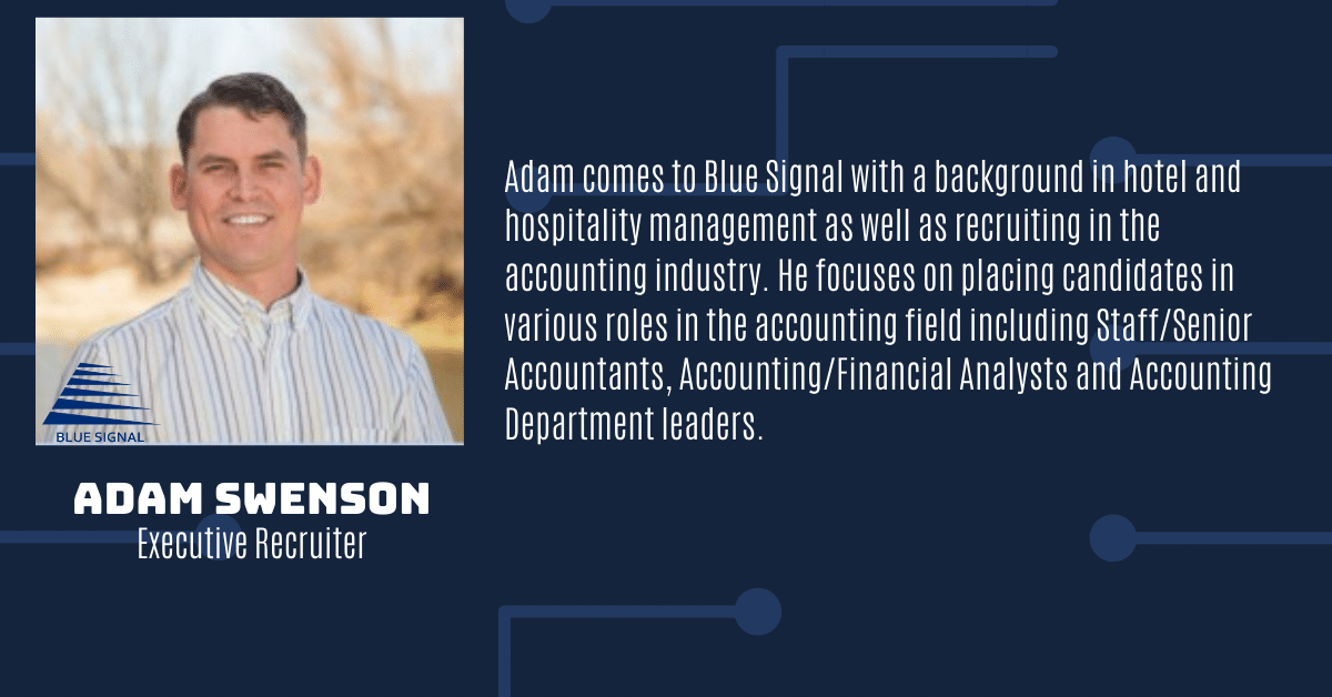 Adam Swenson Executive Recruiter