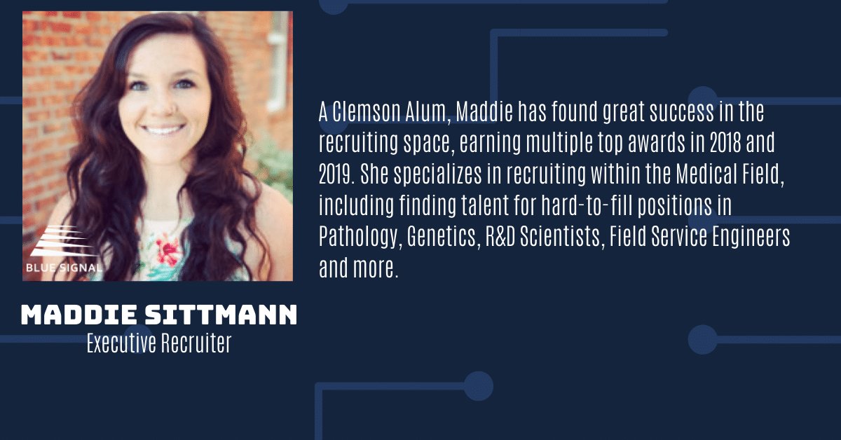 Maddie Sittman Executive Recruiter