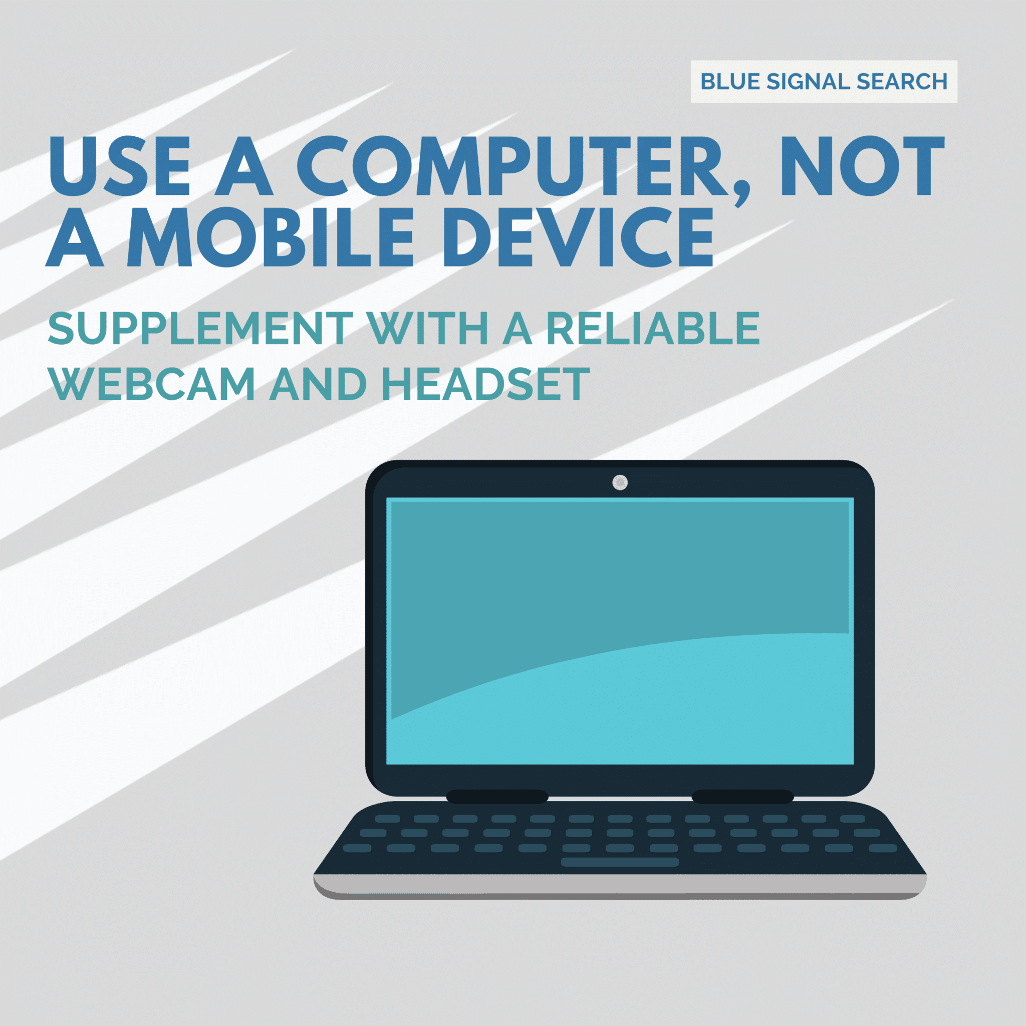 Use a Computer, Not a Mobile Device
