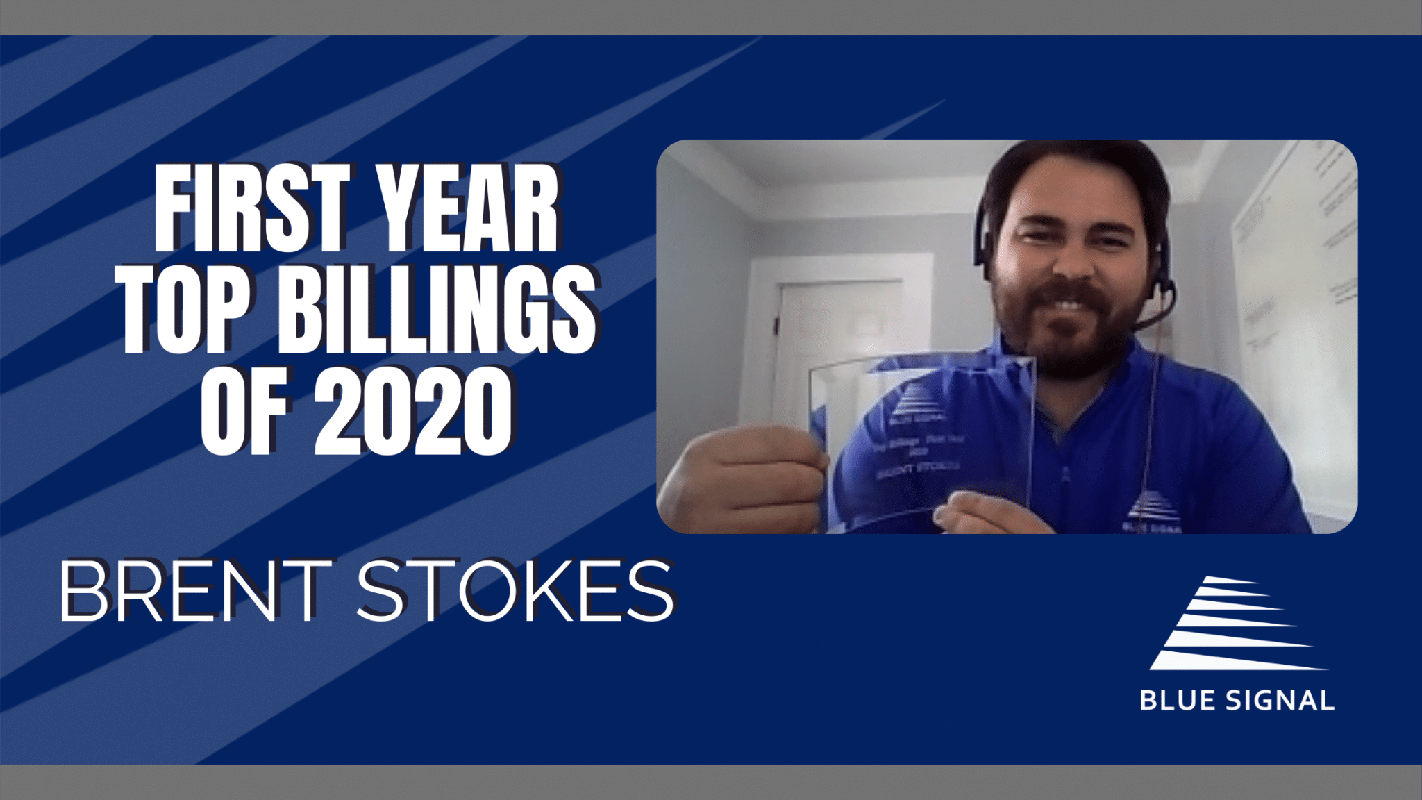 Record-Breaking 2020 Awards - Brent Stokes
