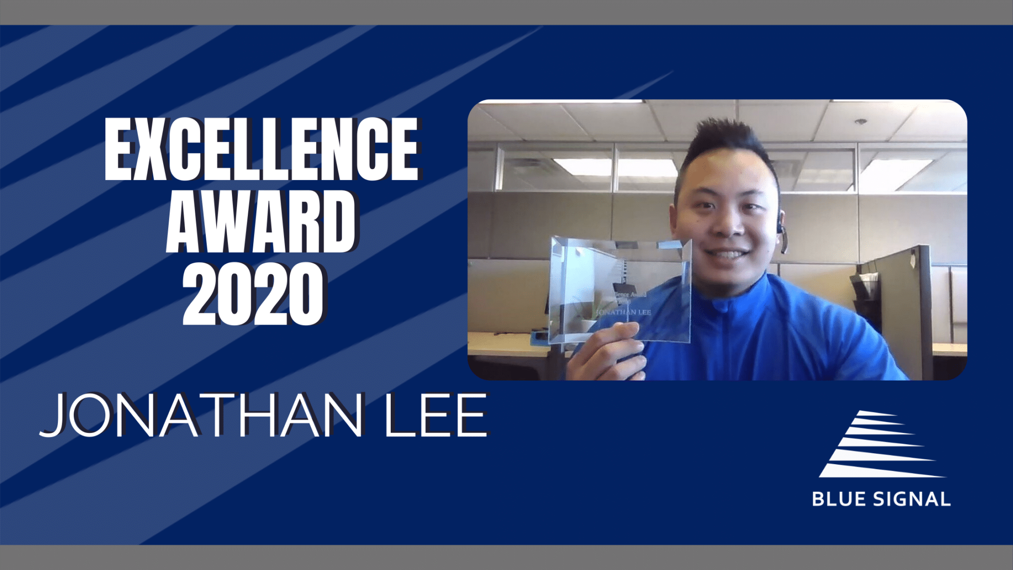 Record-Breaking 2020 Awards - Jonathan Lee