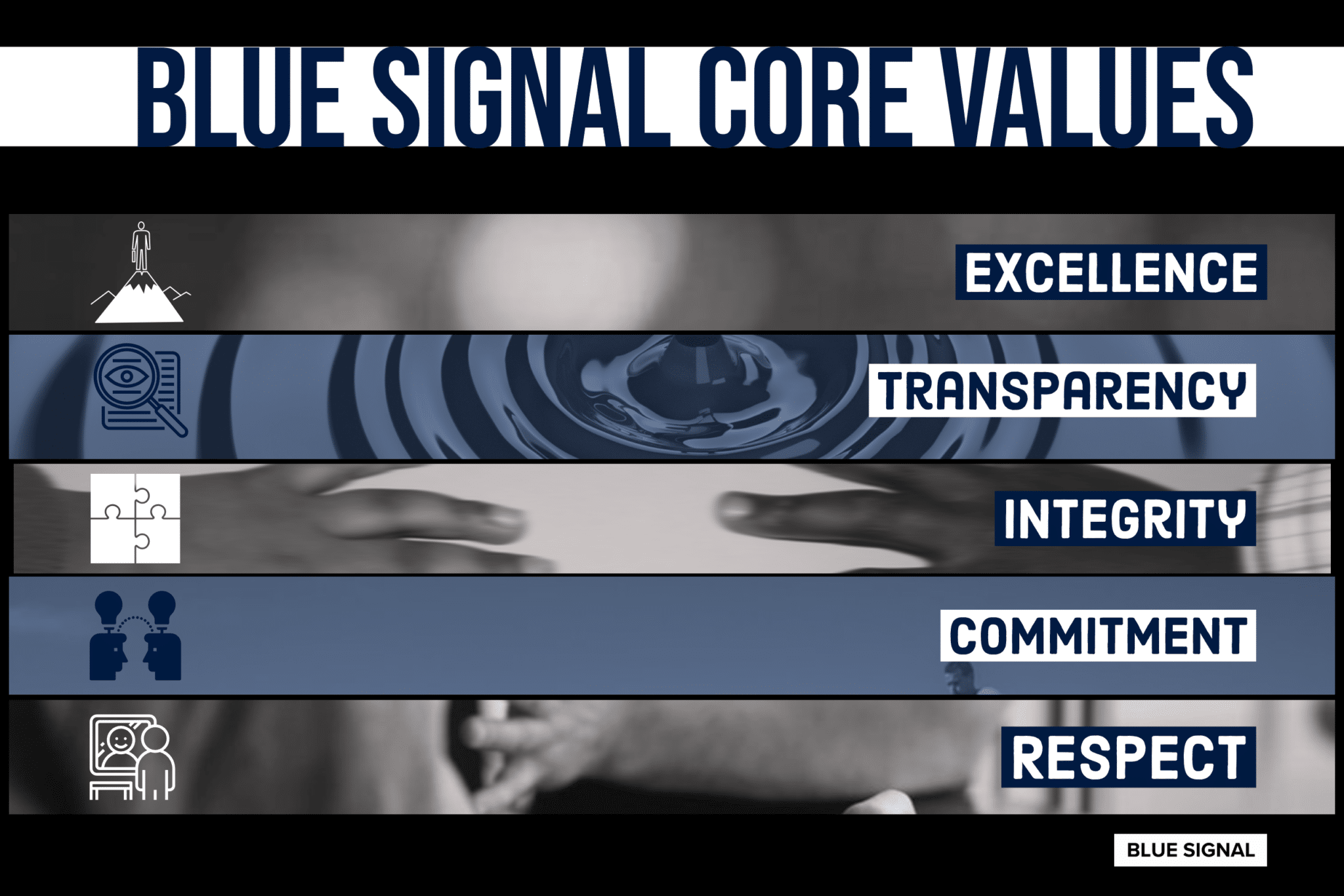 Blue Signal Core Values